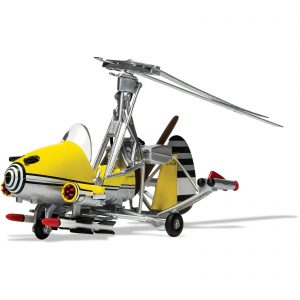 James Bond Gyrocopter Little Nellie, You Only Live Twice Model Set – Scale 1:36