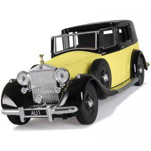 James Bond Rolls Royce Sedance De Ville Goldfinger Model Set – Scale 1:36