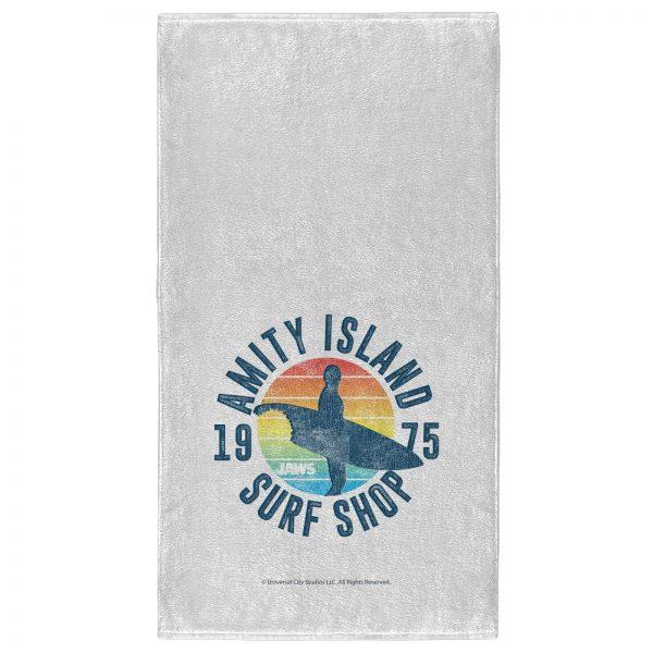 Jaws Island Surf - Fitness Towel