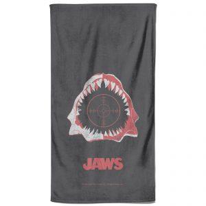 Jaws Print Bath Towel
