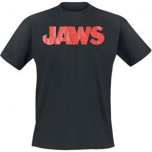 Jaws Shark Attack T-Shirt Black