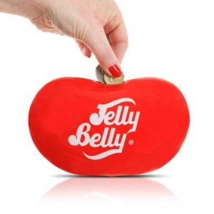 Jelly Belly Money Box – One Size – Pink