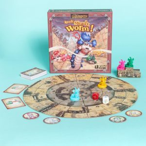 Jim Henson's Labyrinth Ready Steady Worm Board Game From Riverhorse
