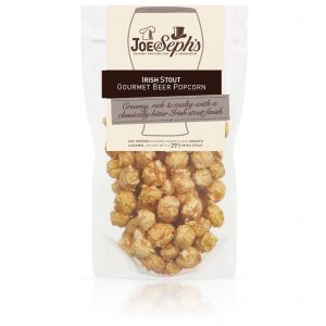 Joe & Seph's Irish Stout Popcorn Pouch – 110g