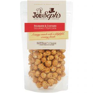 Joe & Seph's Rhubarb & Custard Popcorn Pouch – 120g