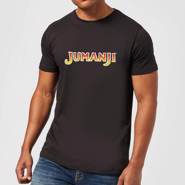 Jumanji Logo Men's T-Shirt - Black - XS - Black