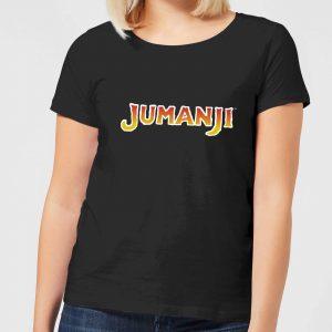 Jumanji Logo Women's T-Shirt – Black – S – Black
