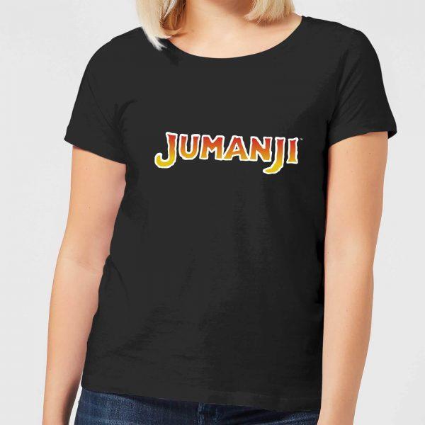 Jumanji Logo Women's T-Shirt - Black - S - Black