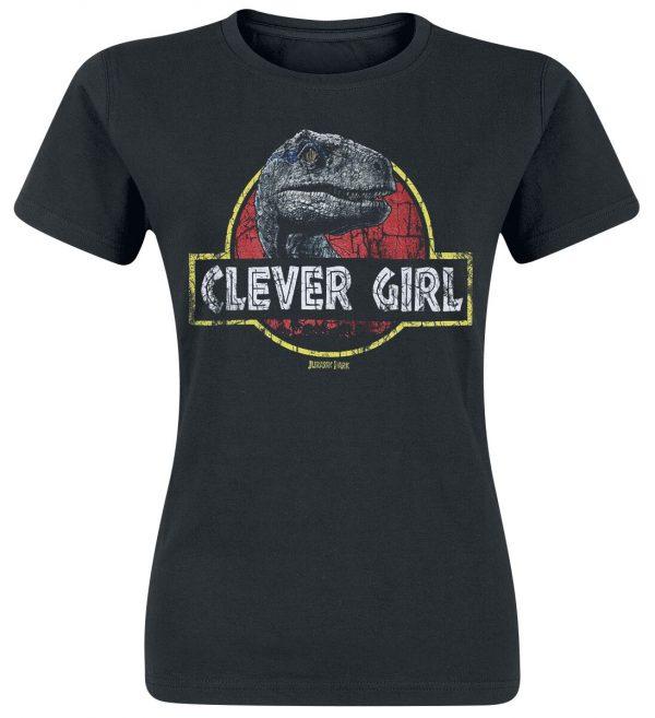 Jurassic Park Clever Girl T-Shirt black