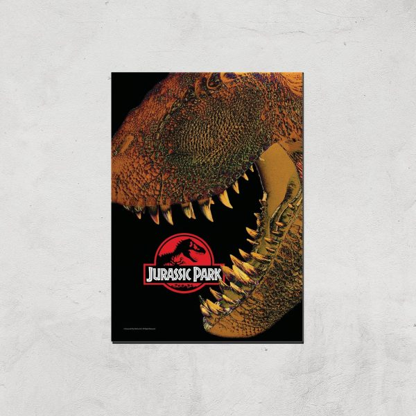Jurassic Park Giclee Art Print - A4 - Print Only
