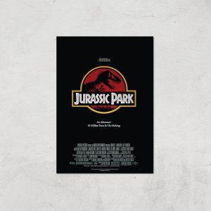 Jurassic Park Giclee Art Print – A4 – Print Only