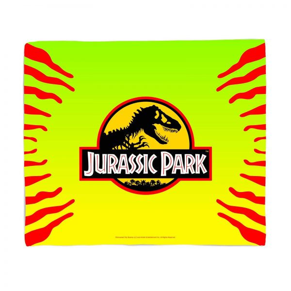 Jurassic Park Gradient Fleece Blanket - S