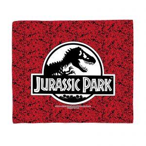 Jurassic Park Logo Fleece Blanket – S