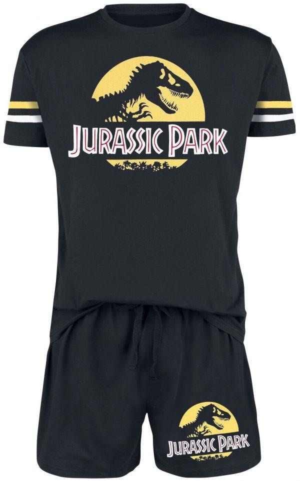 Jurassic Park Logo Pyjama black