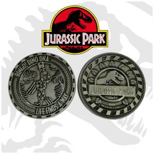 Jurassic Park Mr DNA Limited Edition Collectible Coin