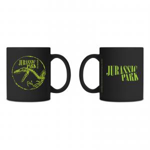 Jurassic Park Punk Mug – Black