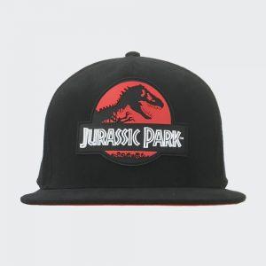Jurassic Park Red Logo Snapback