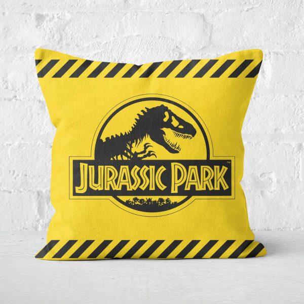 Jurassic Park Tape Square Cushion - 50x50cm - Soft Touch