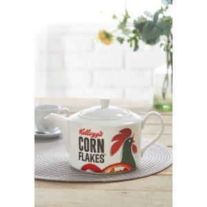 Kelloggs Corn Flakes Porcelain Teapot