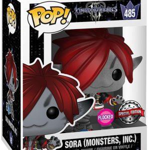 Kingdom Hearts 3 – Sora (Monsters, INC.) (Flocked) Vinyl Figure 485 Funko Pop! Multicolor