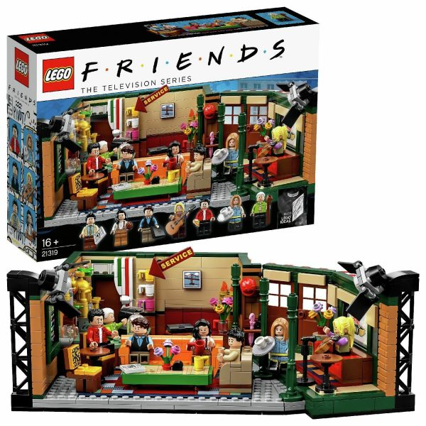 LEGO Ideas Central Perk Friends TV Show Building Set - 21319