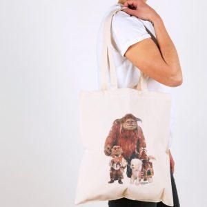 Labyrinth Friends Canvas Tote Bag