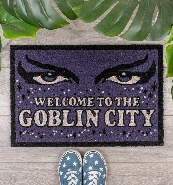 Labyrinth Welcome To The Goblin City Door Mat