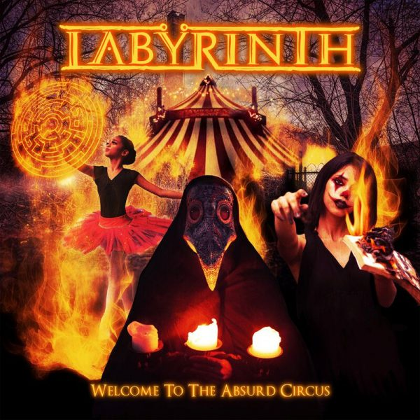 Labyrinth Welcome to the Absurd Circus CD multicolor