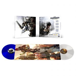 Laced Records – Warhammer: Space Marine (Original Soundtrack) 2xLP (White And Blue)