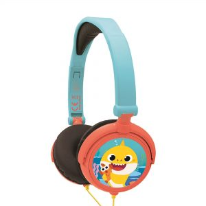 Lexibook Baby Shark Foldable Stereo Headphones With Volume Limiter