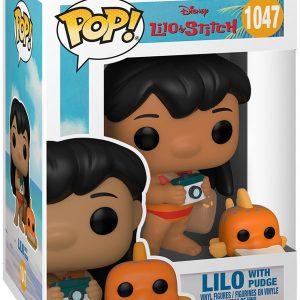 Lilo & Stitch Lilo With Pudge Vinyl Figure 1047 Funko Pop! Multicolor