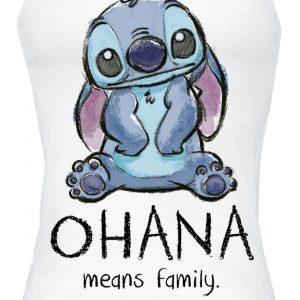 Lilo & Stitch Ohana Means Family Top White