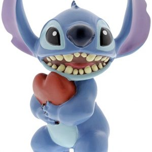 Lilo & Stitch Stitch Heart Figurine Collection Figures Multicolor