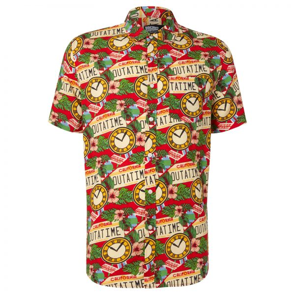 Limited Edition Back to the Future Floral Printed Shirt - Zavvi Exclusive - S