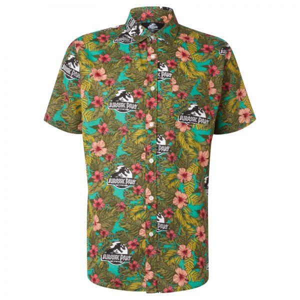 Limited Edition Jurassic Park Botanical Printed Shirt - Zavvi Exclusive - S