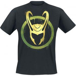 Loki Helmet T-Shirt Black
