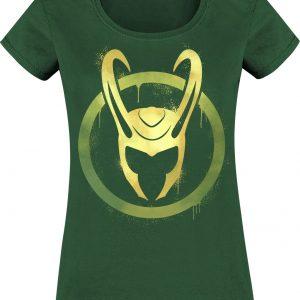 Loki Helmet T-Shirt Bottle Green