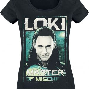 Loki Master Of Mischief T-Shirt Black