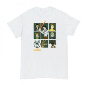 Loki Variants Customisable T-Shirt – From ShopDisney