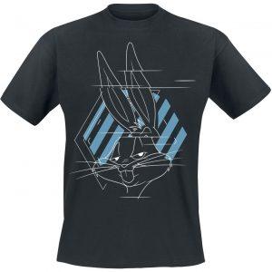 Looney Tunes Space Jam – 2 – Glitch T-Shirt Black