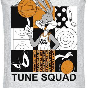 Looney Tunes Space Jam – 2 – Tune Squad Tanktop Mottled Grey