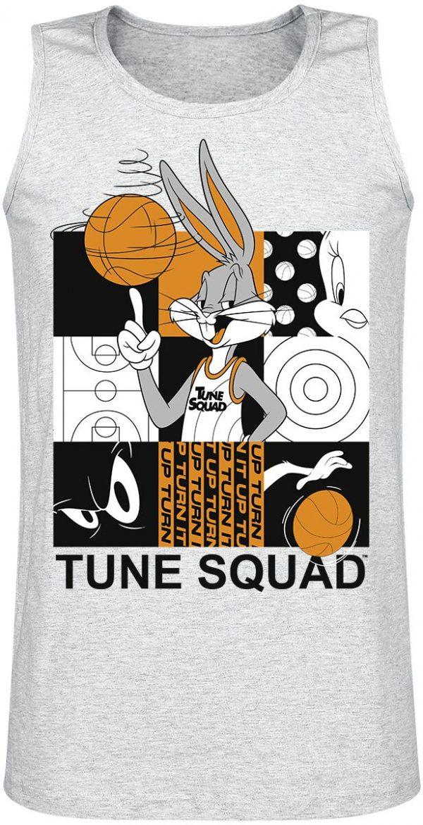 Looney Tunes Space Jam - 2 - Tune Squad Tanktop mottled grey