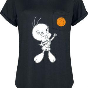 Looney Tunes Space Jam – 2 – Tweety T-Shirt Black