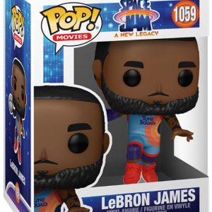 Looney Tunes Space Jam – A New Legacy – LeBron James Vinyl Figure 1059 Funko Pop! Multicolor