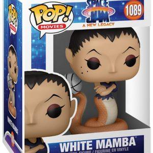 Looney Tunes Space Jam – A New Legacy – White Mamba Vinyl Figure 1089 Funko Pop! Multicolor