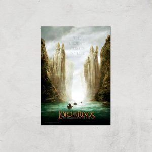 Lord Of The Rings: The Fellowship Of The Ring Giclee Art Print – A4 – Print Only