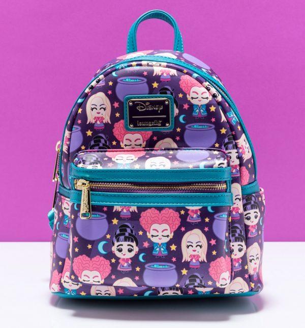 Loungefly Disney Hocus Pocus Chibi Mini Backpack