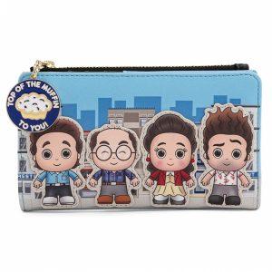 Loungefly Seinfeld Chibi City Flap Wallet