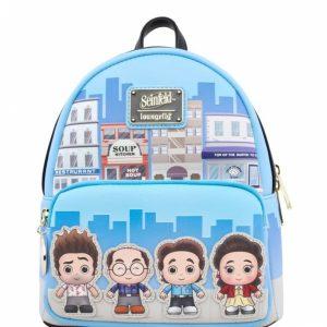 Loungefly Seinfeld Chibi City Mini Backpack