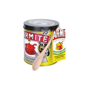 Marmite Vintage Tin With Spoon And Marmite Portions